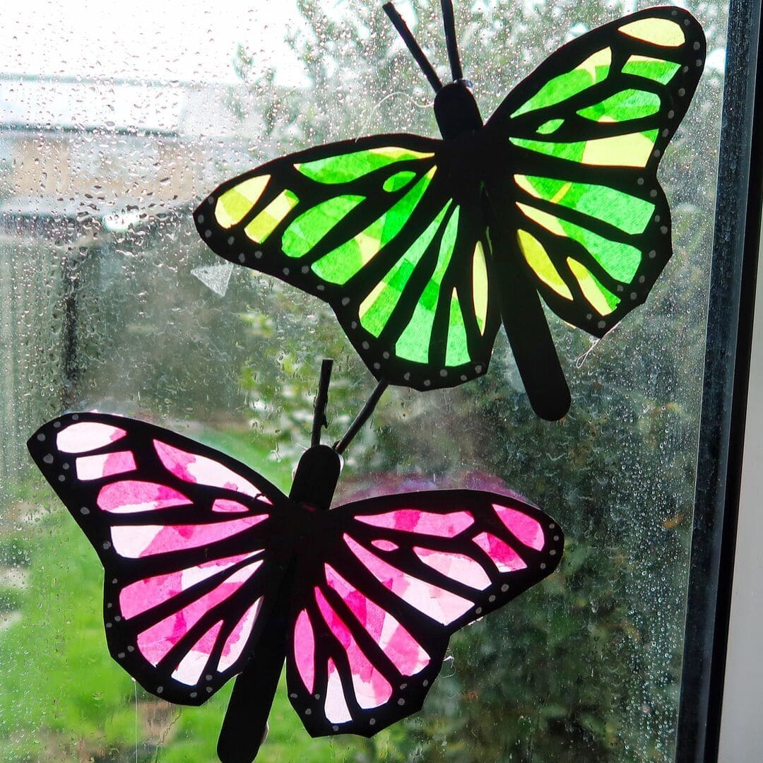 sun-Catcher butterflies
