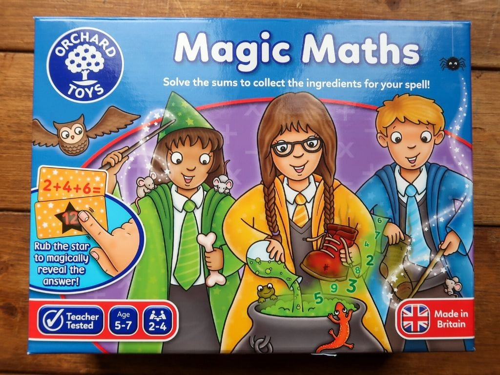 Magic Maths game by Orchard toys