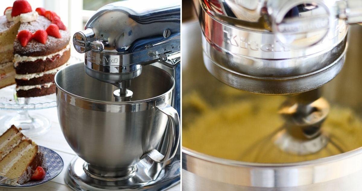 Kitchen Aid Stand Mixer Feature