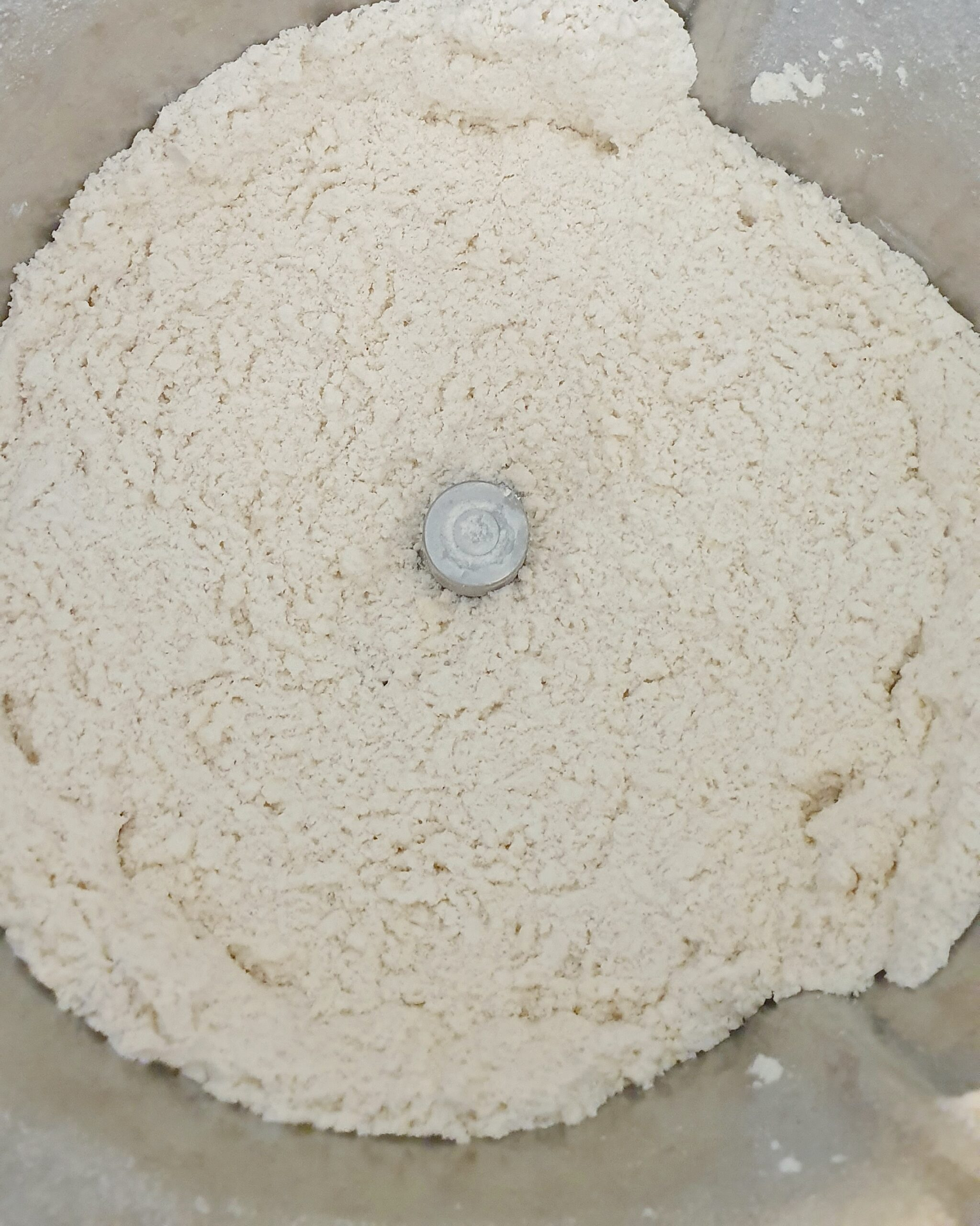 Breadcrumb consitency flour and butter
