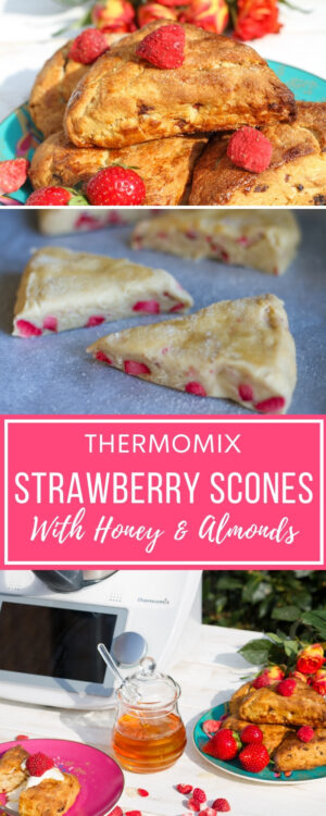 Strawberry scones pin